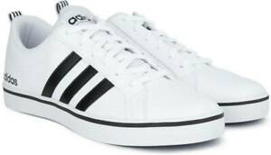 ADIDAD-NEO-VS-PACE-MEN-039-S-SHOES-AW4594-White-Black-Blue-sz-10-5-or-12