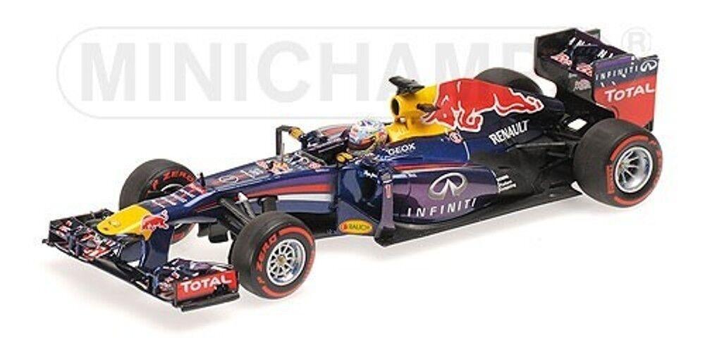 INFINITY rouge BULL RACING RB9 VETTEL 2013 WINNER BRASIL GP MINICHAMPS 410131201