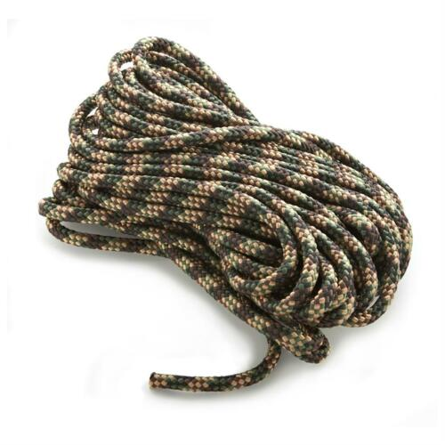 """ANCHOR ROPE DOCK LINE 1//4/"""" X 50/' BRAIDED 100/% NYLON CAMO MADE IN USA"""