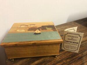 Notturno-Intarsio-Inlaid-Wood-Music-Box-Italy-Measuring-4-3-4-X-3-7-8-WORKS
