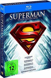 SUPERMAN-5-FILM-COLLECTION-5-Blu-ray-Discs-NEU-OVP