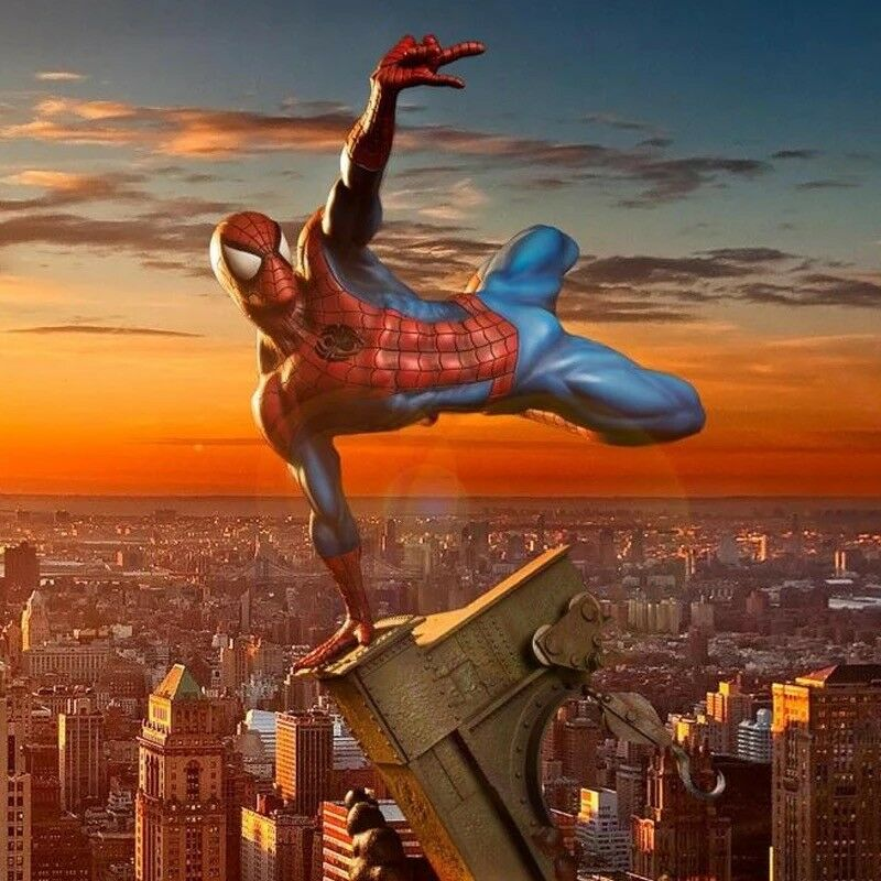Marvel Universe Heroes The Avengers Spider-Man Homecoming 1 8 Figure