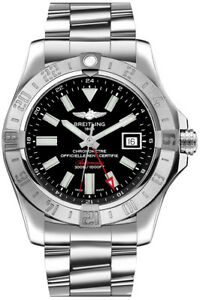 Brand-New-Authentic-Breitling-Avenger-II-GMT-A32390111B1A1-Men-039-s-Watch