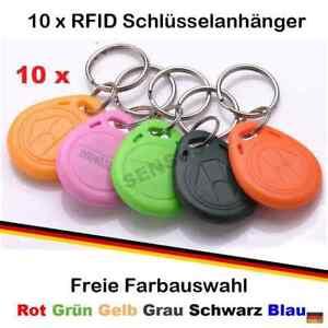 10-x-RFID-Tag-Transponder-Key-Keyfob-125-kHz-Schlusselanhanger-Chip-s-Tags