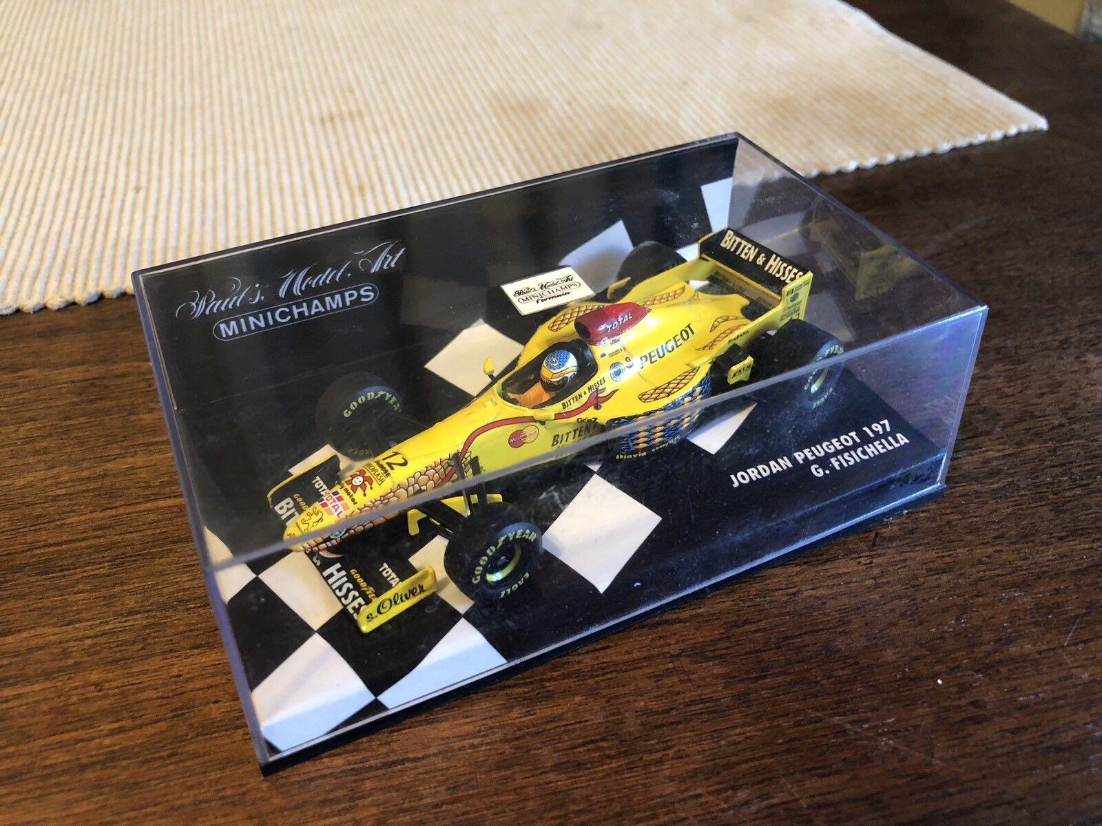 Minichamps Jordan Peugeot Peugeot Peugeot 197 Fisichella Formula 1 6a463c