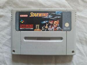 STARWING Super Nintendo Game SNES PAL VERSION Super Nes Star Wing