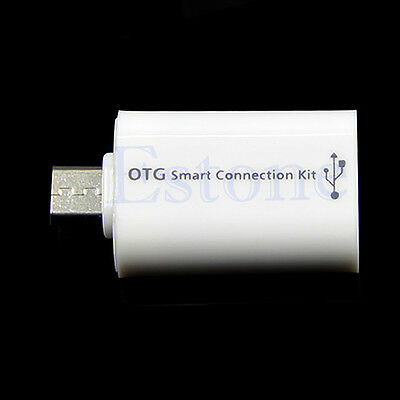 USB Female to Micro USB Male OTG Smart Connection Kit For Samsung Phone Galaxy