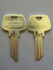Pair Of Sargent Rn Key Blanks 5 Pin Master For The R Keyways
