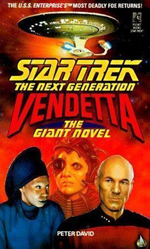 Star Trek The Next Generation Ser. Vendetta The Giant Novel By Peter... - $1.00