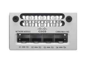 New-Open-Cisco-C3850-NM-4-10G-3850-Network-Module-4-Port-10-Gigabit-Ethernet