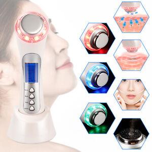 5-In-1-Ultrasonic-Ion-Face-Skin-Lift-Beauty-Device-Ultrasound-Anti-aging-White