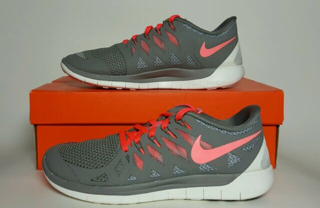 41cff4294bad new zealand nike free 5.0 womens light ash hyper punch new in box multiple  sizes 642199