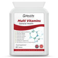 Multi Vitamins - 60 Tablets