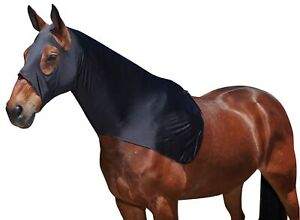 Roma//Weatherbeeta Lycra Stretch Hood,Black or Navy,All Sizes,Prevents Rubbing