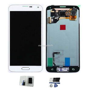 For-Samsung-Galaxy-S5-SM-G900F-S5-G901F-pantalla-tactil-lcd-display-blanco-cover