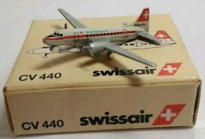 Schabak-1-600-escala-Diecast-Swissair-Convair-CV440-933-4