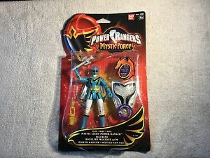 Bandai-Power-Rangers-Mystic-Force-Light-Blue-Figure-With-Light-Up-Sheild-Boxed