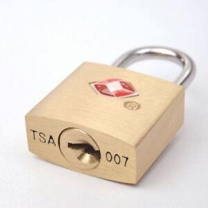 Tsa-Genehmigt-Massives-Messing-Sicherheitsschloss-Vorhaengeschloss-fuer