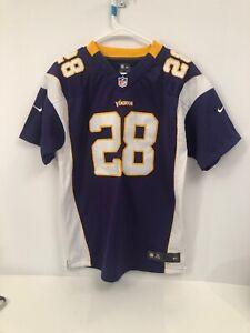 Details about NFL Team Apparel Minnesota Vikings Adrian Peterson Jersey Youth XL Women Kid
