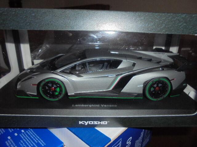 Kyosho 09501grg Lamborghini Veneno Gris metálico - 1:18 # NUEVO EN EMB. orig. #