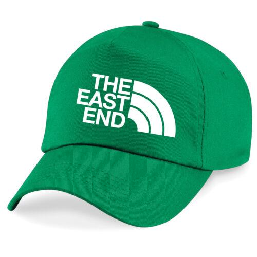 East End West Ham East London Football fan baseball cap 7 colours one size