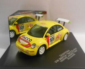 Skid-1-43-escala-Diecast-Modelo-SKM99084-VW-Beetle-039-Yacco-Fly-039-Trophee-Andros-1999