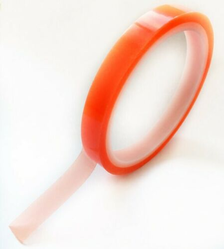 Strong Double Sided Super Sticky Tape Red Back Clear Craft Tape 12mm x 5m