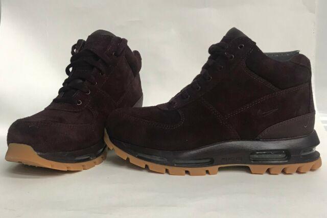 new concept 64017 1788f Men s size 8 Nike Air Max Goadome 2013 ACG Boots Deep Burgundy-Gum 599474-