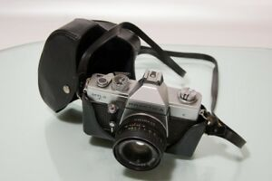 Praktica mtl with cimko wide tele zoom f mm and