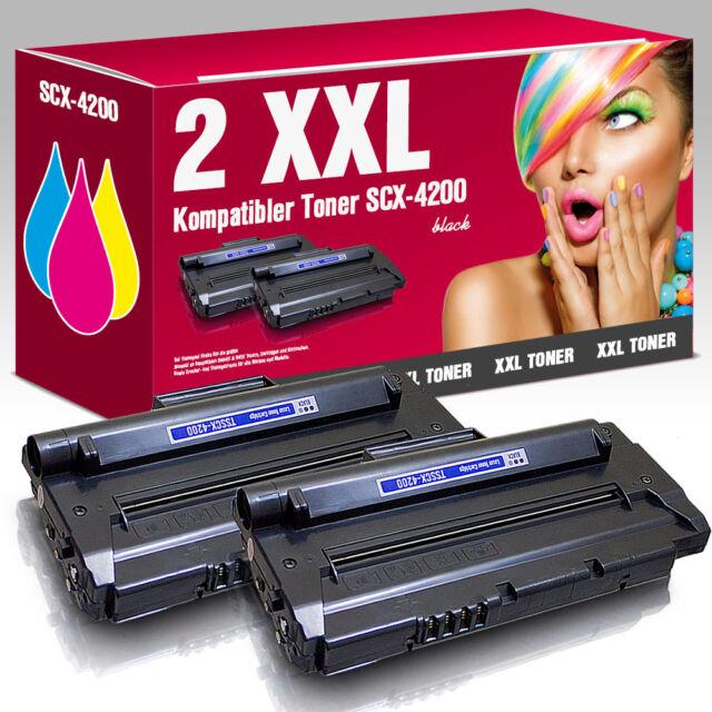 2 XXL Rebuild-Toner für Samsung SCX-D4200A SCX 4200 R