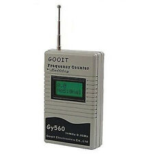 GOOIT GY560 50MHz~2.4GHz Radio Frequency Counter Digital Channel Scanner
