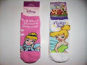 Disney-Princess-Fairies-Socks-3-Pair-Pack-Girls-Size-6-8-5-Select-Style-NIP