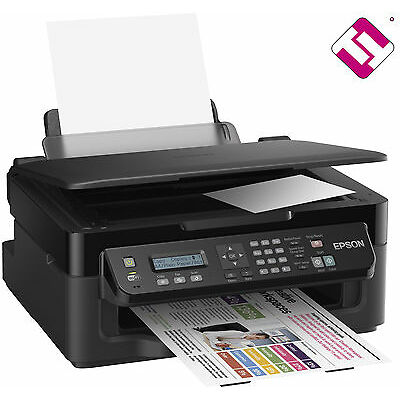 IMPRESORA ESCANER WIFI FAX MULTIFUNCION EPSON WF 2510WF WORKFORCE GANGA