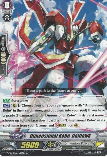 DIMENSIONAL ROBO G-CHB02//061EN C DAIHAWK CARDFIGHT VANGUARD CARD