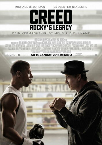 63101 Creed Rocky/'s Legacy Wall Print POSTER CA