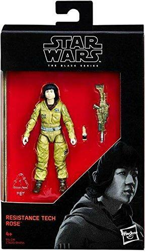 "Star Wars Black Series Resistance Tech Rose 3.75"" Action Figure The Last Jedi"