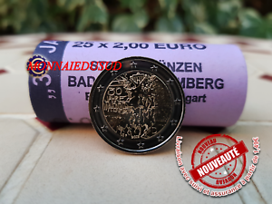 2-Euro-Commemorative-Allemagne-2019-Mur-de-Berlin-UNC-NEUVE