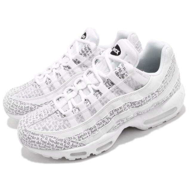 timeless design aae14 07bdb Nike Air Max 95 SE White Just Do It Pack Mens Running Shoes NSW AV6246-