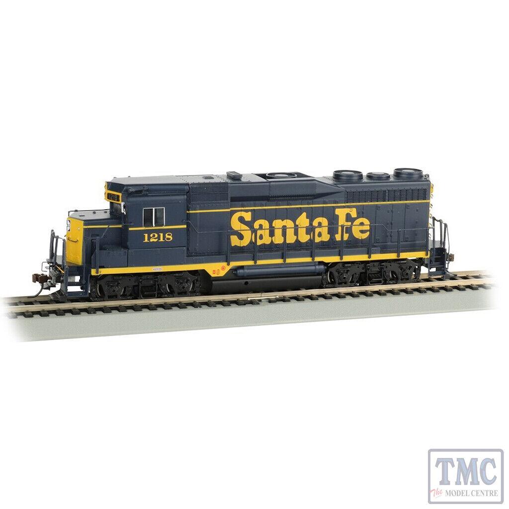 67604 US Outline HO Scale GP30 Diesel Santa Fe  1218 blu & gituttio