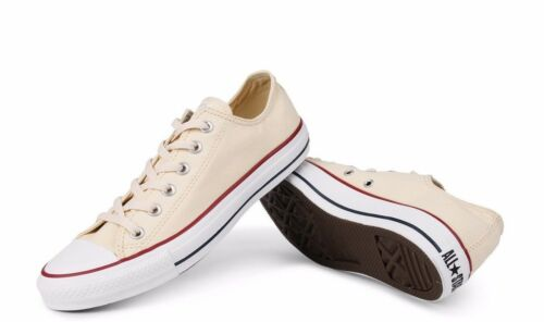 Converse Chuck Taylor All Star Unbleached White Low Top OX M9165 Canvas New wBox