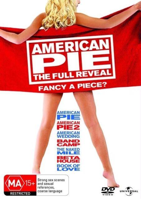 American Pie - The Full Reveal (DVD, 2010, 7-Disc Set) region 4