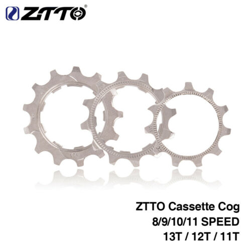 MTB Fahrrad Kassette Zahn Freilauf Schwungrad Ritzel 8//9//10//11Speed 11T//12T//13T