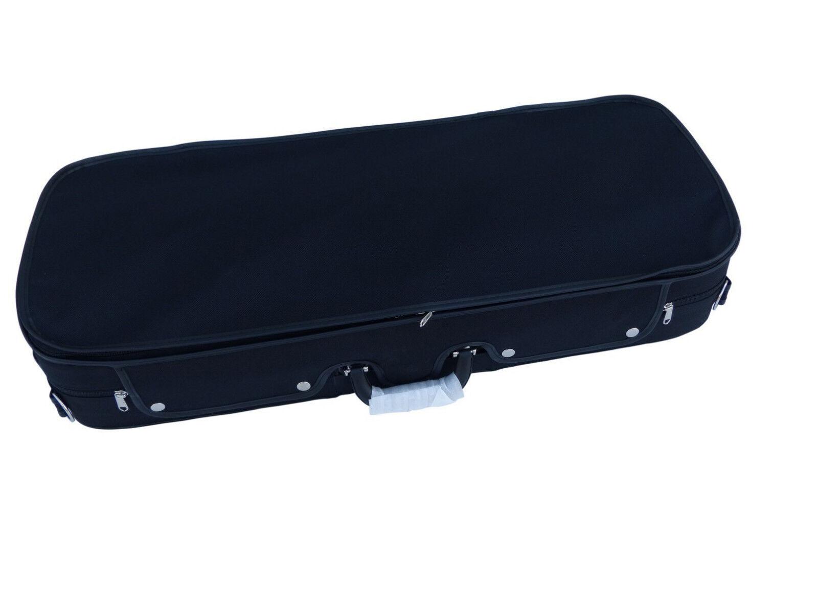 fantastica qualità Ia valigia valigia valigia valigia doppio per 2x 4 4 violino in nero NUOVO  promozioni eccitanti