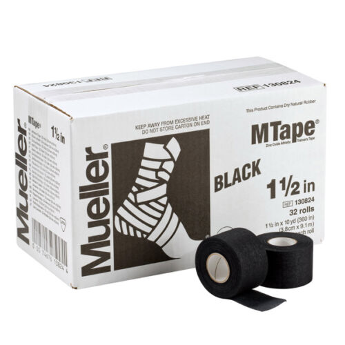 "Mueller M Tape Color 1.5/"" x 10 yd High Tensile Strength w// Excellent Tackiness"