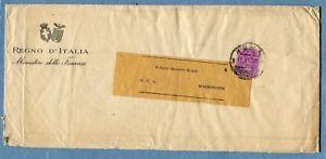1929 PARM.c.50 (225) ISOLATO, tariffa STAMPE DUE PORTI ESTERO (272454)