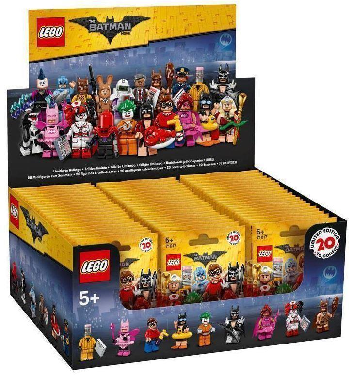 LEGO ® 71017  minifiguren  BatFemme série    Ensemble complet écran avec 60 pochettes  OVP | Aspect élégant  d4b0f3