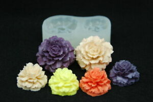 Animal set #2 Silicone Mold Chocolate Polymer Clay Jewelry Soap Wax Resin