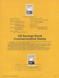 9118-29c-Savings-Bonds-Stamp-2534-USPS-Souvenir-Page