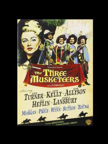 1 of 1 - The Three Musketeers - Gene Kelly , Lana Turner - Region 2 - New Sealed DVD