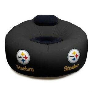 NFL-Pittsburgh-Steelers-Football-Large-Inflatable-Air-Chair-w-Pump-Included